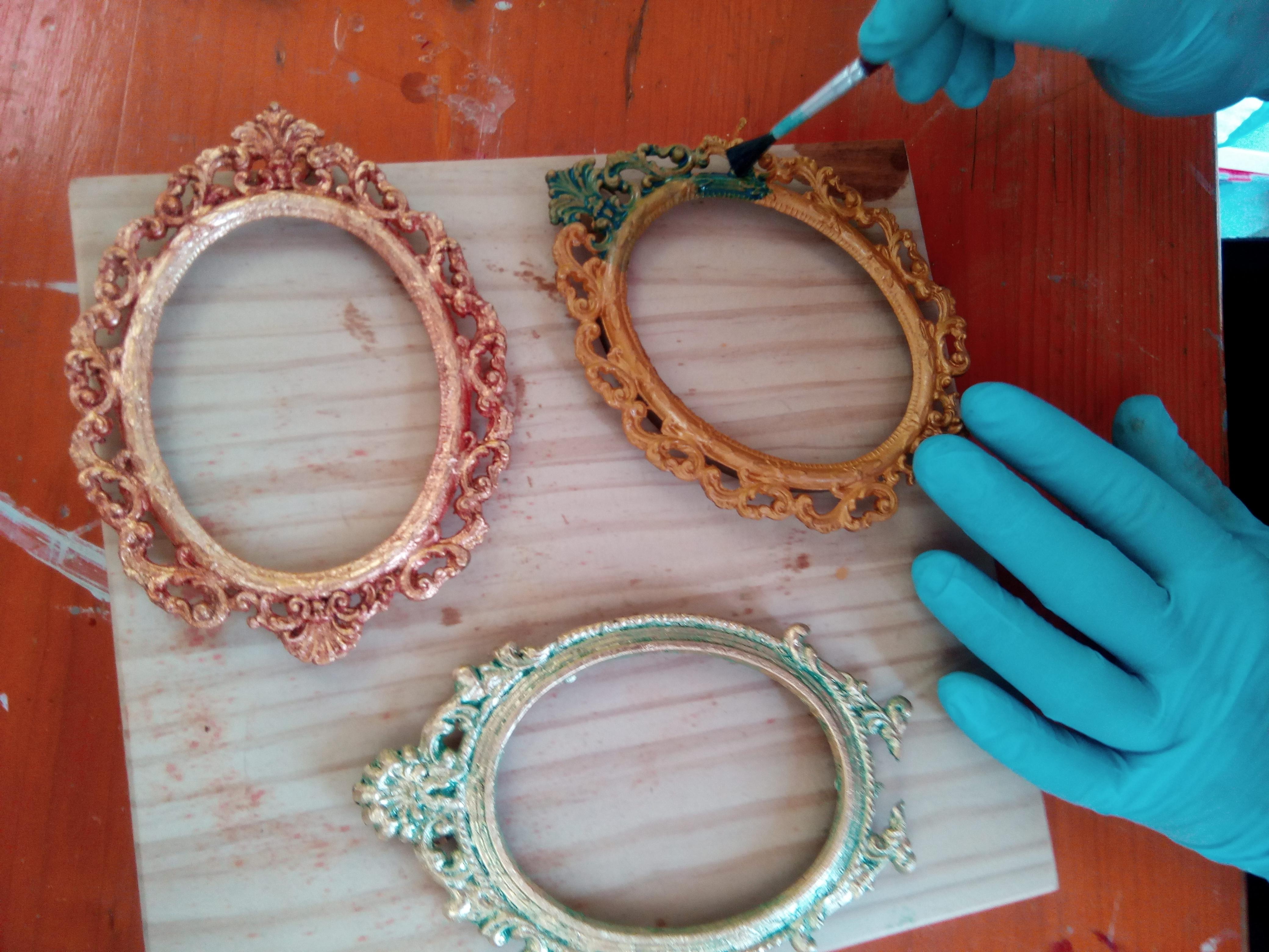 Te apuntas efectos met licos menia restauraci n - Como limpiar metal oxidado ...